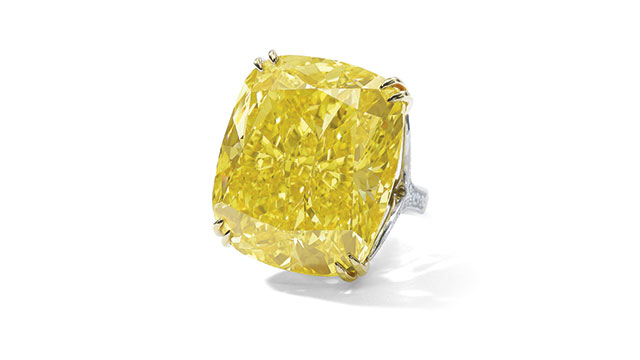 Yellow diamond Sotheby's