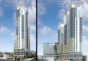 Metropolis high-rise project 3D model
