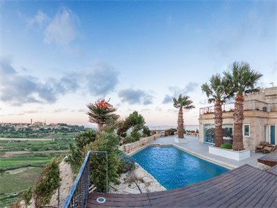 Mdina property pool area