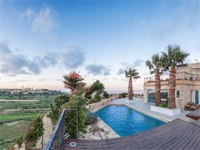 Mdina property pool area