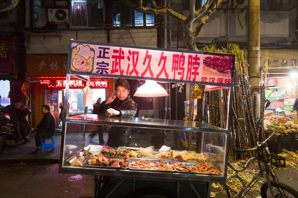 Night food market at ZhaoZhou Road