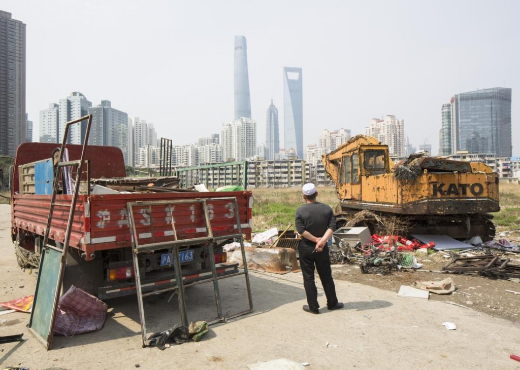 View across to Shanghai Tower