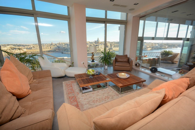 Tigne Point penthouse