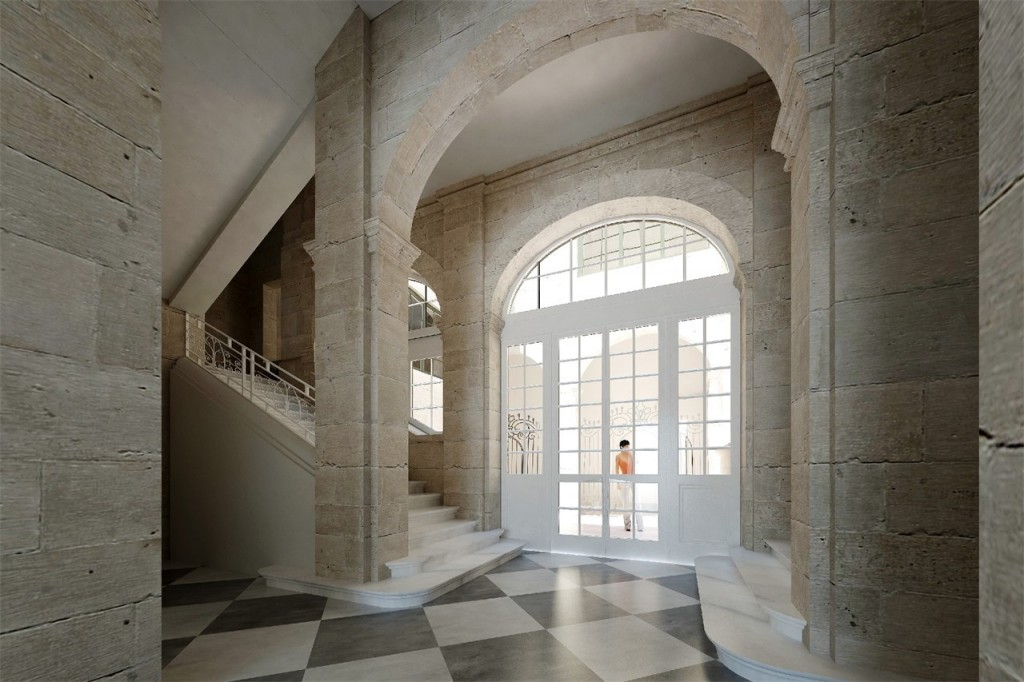 Interior of Valletta palazzo