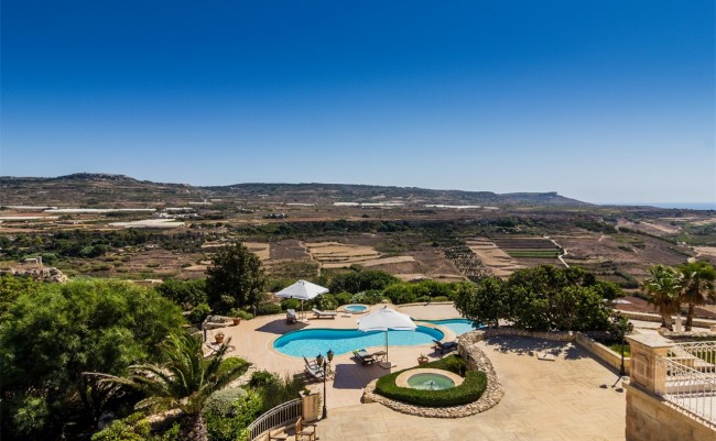 View from Luxury Villa, Mġarr