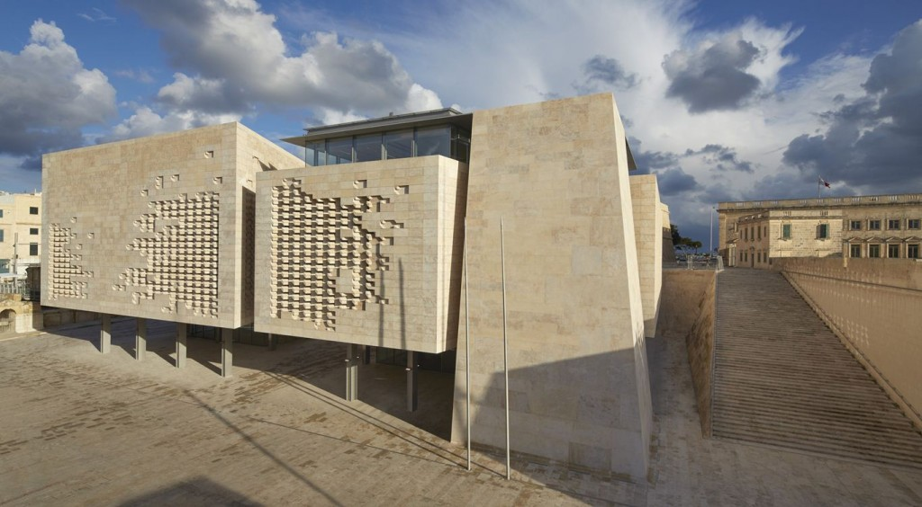 Renzo Piano's City Gate Project, completed last May, included the new parliament building.