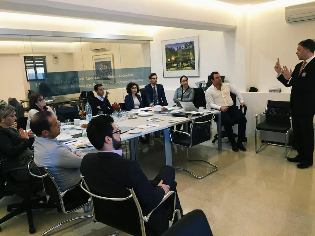 Malta SIR Team Luxury Brand Training