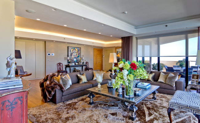 Luxury apartment in Tigne Point