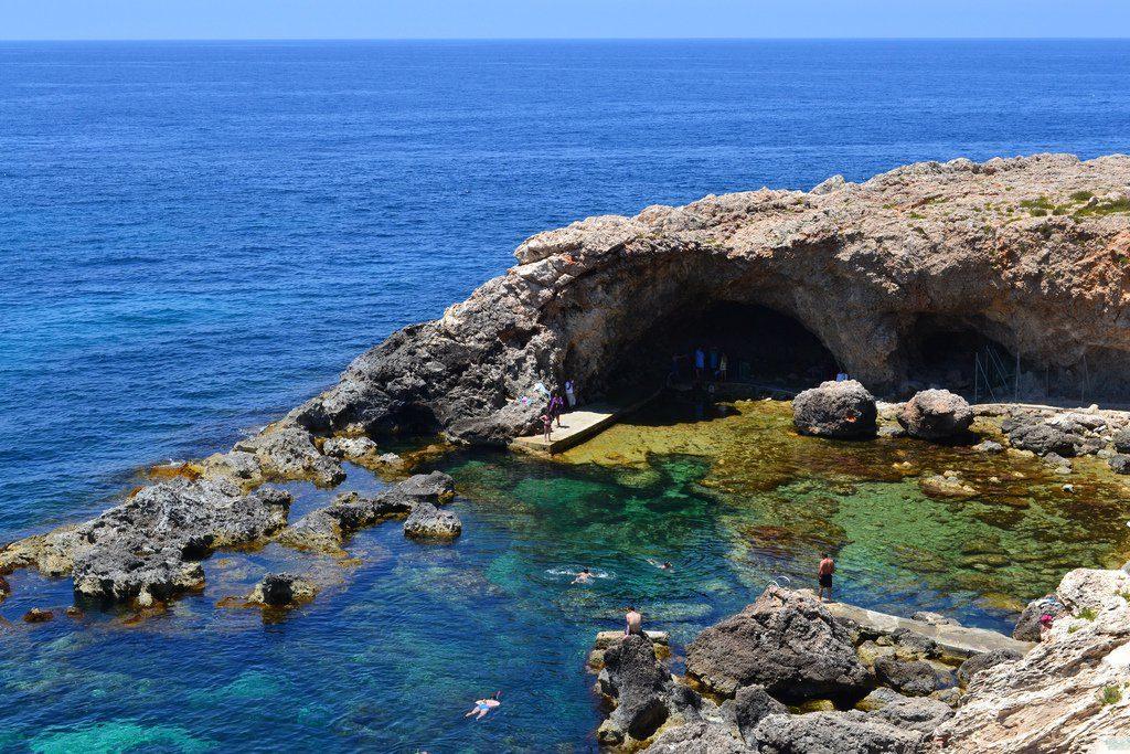 Ghar Lapsi Beach Malta