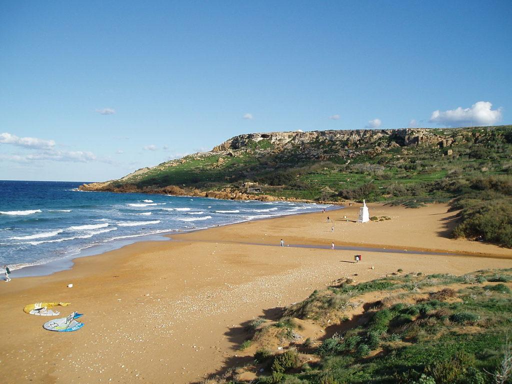Ramla Bay in Gozo