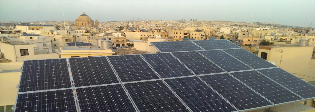 solar energy in Malta